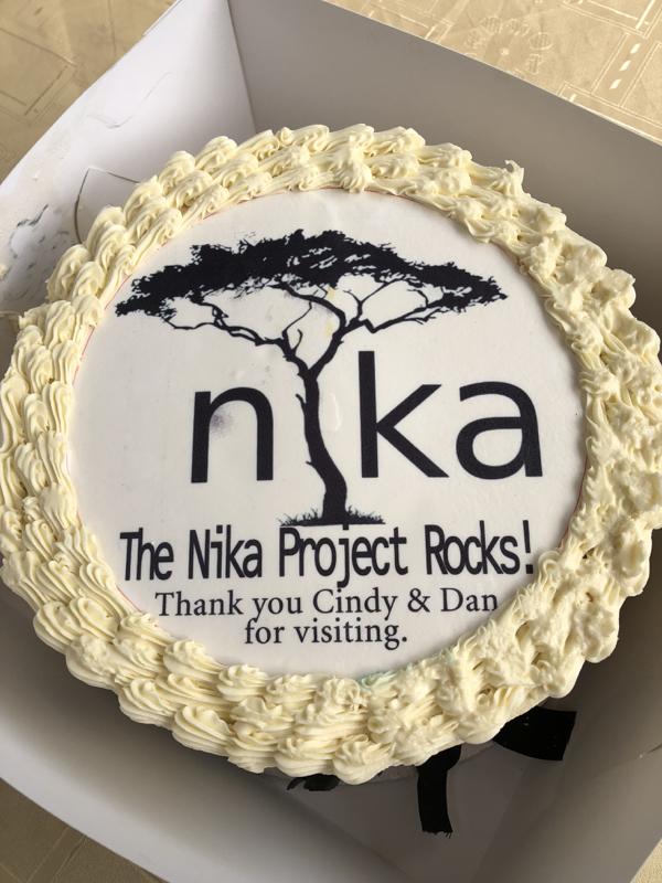 The Nika Project - Nigeria - Cake